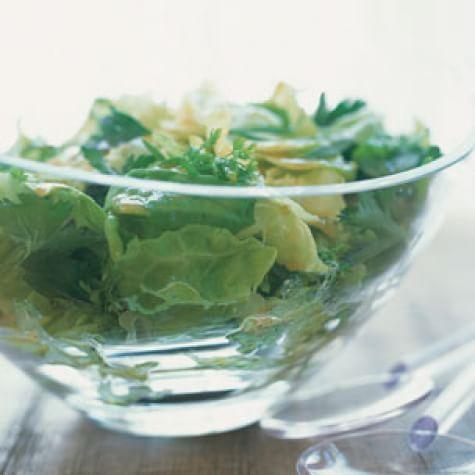 Bibb Lettuce and Herb Salad with Vinaigrette