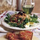 Tuna and Curly Endive Salad with Romesco Vinaigrette (Xató)