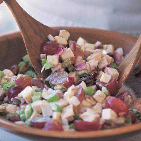 Chutney Chicken & Pistachio Salad