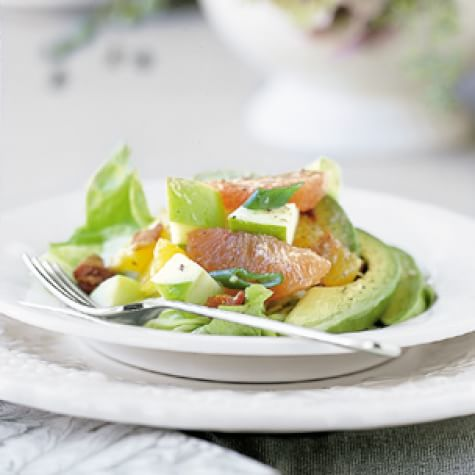 Apple-Citrus Salad with Avocado and Bacon