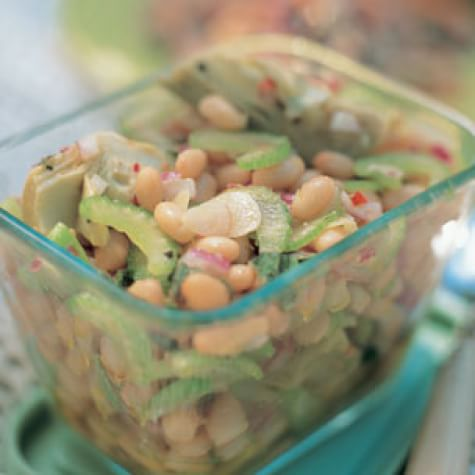 Artichoke and White Bean Salad