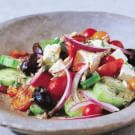 Greek Salad with Cherry Tomatoes