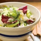 Herbed Garden Salad with Goat Cheese