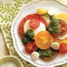 Tomato-Mozzarella Salad with Pesto