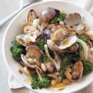 Clams with White Beans, Fennel and Broccoli Rabe