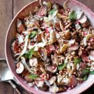 Warm Lamb and Farro Salad with Fennel and Pomegranate