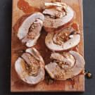 Braised Veal Breast Stuffed with Fontina and Porcini