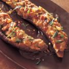 Asian Eggplant Stuffed with Spicy Minced Chicken