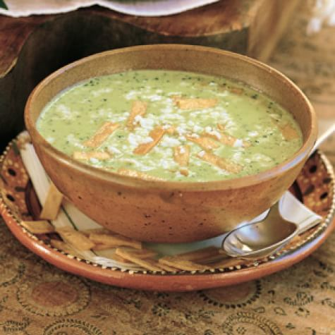 cilantro soup sopa de cilantro fiesta rice arroz de fandango
