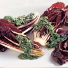 Pan-Grilled Radicchio with Italian-Style Salsa Verde