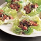Lettuce Tacos with Grilled Sesame Beef