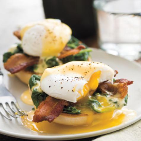 Lemony Eggs Florentine   Williams Sonoma