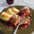 Roman-Style Meatballs with Gnocchi alla Romana