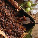 Deep-Dish Apple Bourbon Streusel Pie