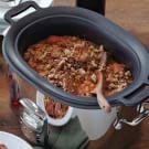 Braised Maple-Bourbon Pork with Beans