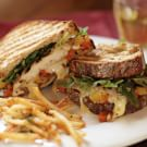 Maple-Black Pepper Chicken and Camembert Melt with Matchstick Fries