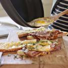 Ham, Cheese and Fried Egg Panini