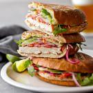 Vietnamese Grilled Chicken Sandwiches