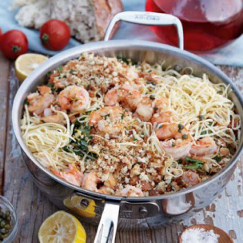 pasta with prawns and lemon oil fresh pasta with prawns and lemon oil ...
