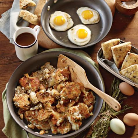 Fried Eggs with Rosemary Potatoes | Williams Sonoma