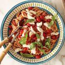 Spaghetti with Tomato-Basil Sauce
