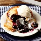 Blueberry Mini Pies with Lemon Buttermilk Ice Cream