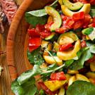 Summer Squash Sauté with Basil & Tomatoes
