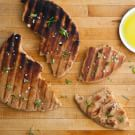 Grilled Emmer Flatbread