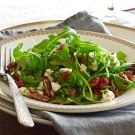 Arugula Salad with Goat Cheese, Toasted Pecans and Cranberry Vinaigrette
