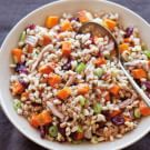 Farro Salad with Turkey and Roasted Squash