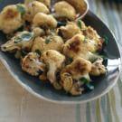Roasted Cauliflower with Pine Nuts and Raisins