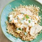 Toasted Quinoa with Chicken and Mango