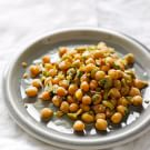 Chickpeas with Lemon, Oregano and Olives