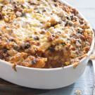 Corn and Chili Strata with Mexican Chorizo