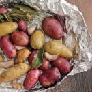 Roasted Potatoes with Rosemary and Bay