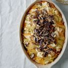 Wild Mushroom and Root Vegetable Gratin