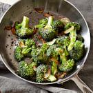 Pan-Roasted Broccoli with Garlic
