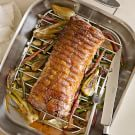 Roasted Pork Loin with Fennel and Carrots