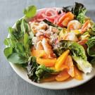 Crab and Shrimp Salad with Avocado and Oranges