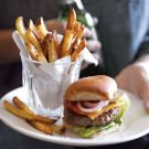 Grass-Fed Beef Sliders with Air-Fried French Fries