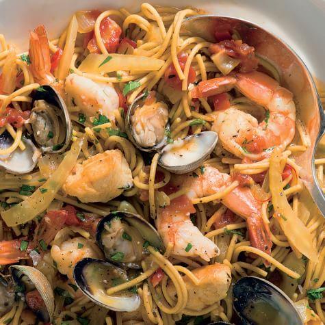 Williams sonoma seafood pasta recipe