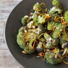 Roasted Broccoli with Orange Zest and Almonds