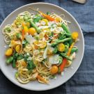 Angel Hair Pasta with Spring Vegetables