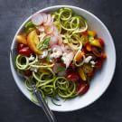 Farmers' Market Salad with Tomato-Basil Vinaigrette