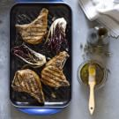 Pork Chops with Grilled Radicchio Salad