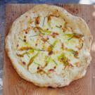 Zucchini Blossom Flatbread