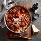 Spaghetti with Turkey Meatballs