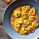 Pumpkin Tortelloni with Sage & Pumpkin Seeds