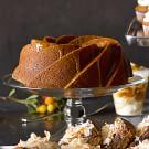 Pumpkin Bundt Cake with Salted Caramel Sauce
