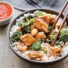 Chicken, Broccoli & Cashew Stir-Fry